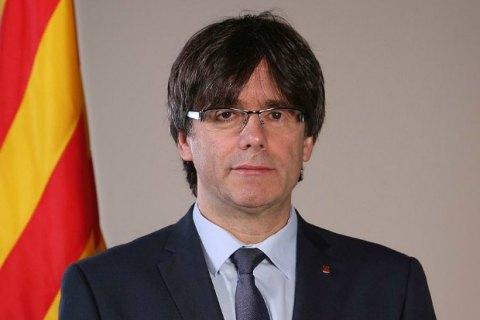 Пучдемон хочет встретиться с испанским премьером в Брюсселе