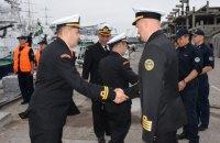 В Одесу прибув корабель Берегової охорони Туреччини з дружнім візитом