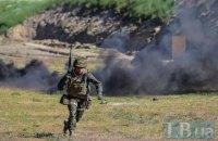 На Донбассе ранен один украинский военный
