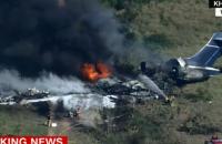 У Техасі розбився літак з пасажирами, понад 20 людей вижили