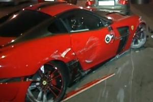 VIP-ДТП: у центрі Києва розбився Ferrari