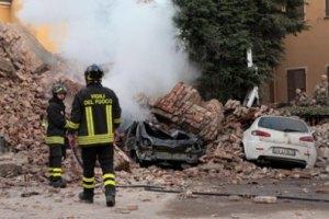 Підземні поштовхи в Італії не вщухають
