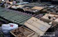 Полиция нашла огромный тайник с оружием в бывшем детском лагере возле Волновахи