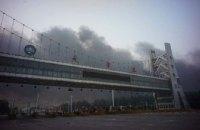 Жителі Тяньцзиня поскаржилися на отруйну піну на вулицях