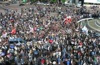 В Грузии требуют отставки Саакашвили