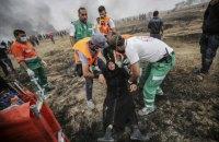 Кількість загиблих у сутичках в секторі Газа зросла до 59