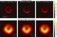Учені вперше показали зображення чорної діри