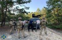СБУ провела антитерористичні навчання біля кордону з Білоруссю
