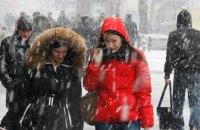 В понедельник в Киеве ожидается небольшой снег