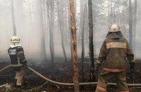 У Чорнобильській зоні відчуження продовжують гасити пожежі