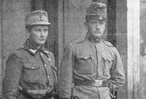 Олена Степанів з братом Ананієм