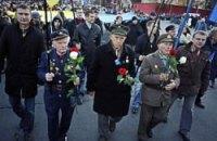 Во Львове проходит марш в честь годовщины создания УПА