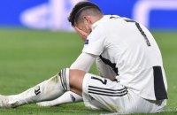 Роналду впервые за девять лет не попал в полуфинал Лиги Чемпионов