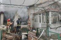 В Одесі під час гасіння пожежі загинув рятувальник