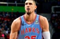 Украинец Лень сделал дабл-дабл в матче НБА