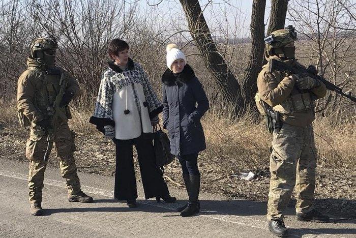 Лутковська на обміні полоненими, 07 лютого 2018