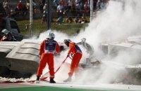 У Формулі-2 гонка була завершена достроково через страшну аварію
