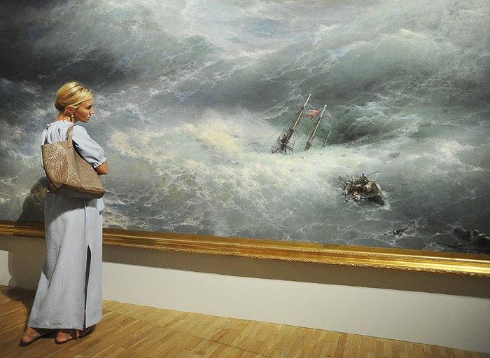 Виставка картин Івана Айвазовського в Третьяковській галереї