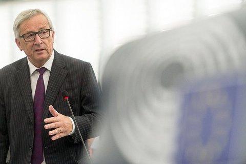 """Юнкер: після """"жорсткого"""" Брекзиту в Ірландії з'явиться фізичний кордон"""