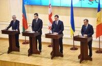 Страны ГУАМ договорились о создании транспортного коридора и сотрудничестве по ЗСТ