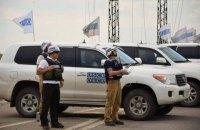 На Донбассе оккупационные войска размещают военную технику с нарушением линии отведения