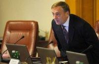 Янукович поздравил Лавриновича с юбилеем и дал ему орден