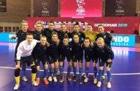Украина сыграет с Россией  в матче за 3-е место женского чемпионата Европы по футзалу