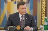 Янукович отмечает важность дальнейшего развития украинско-ирландских отношений