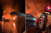 Під час пожежі на кораблі біля узбережжя Каліфорнії загинули понад 30 людей