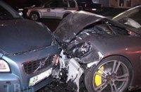 Porsche Panamera протаранив чотири авто в Києві: дві людини загинули