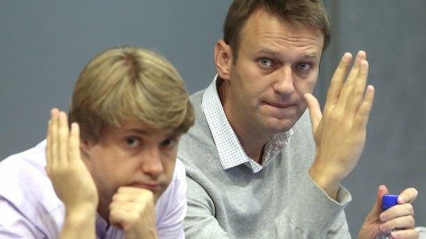 Алексей Навальный и Владимир Ашурков