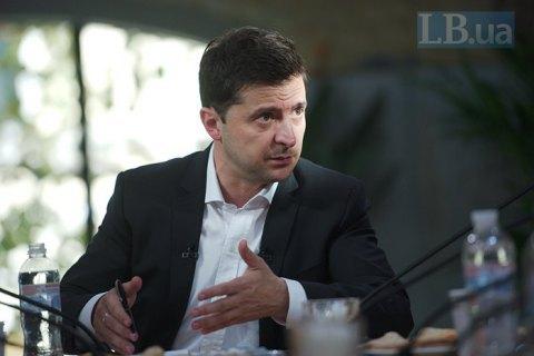 """Зеленський заявив про неприйнятність автономії Донбасу, але допускає """"гуманітарні компроміси"""""""