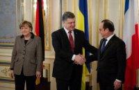 Порошенко, Олланд і Меркель відмовилися коментувати переговори