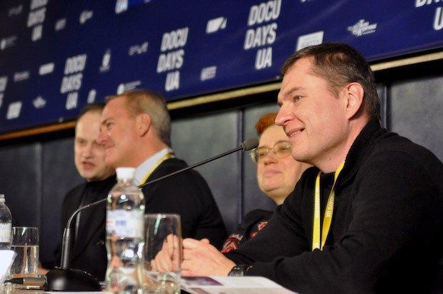 Андрей Почобут из жюри DOCU/Право