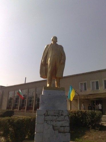 Пам'ятник Леніну в c.Калчева