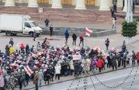У Мінську проходить марш пенсіонерів і медиків, є затримані