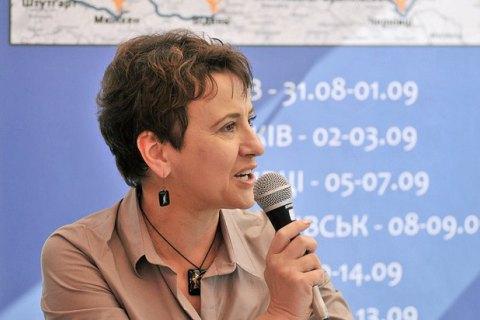 Забужко: у 1997 році тих видавців, які займалися українською книжкою, на Донбас уже не пускали
