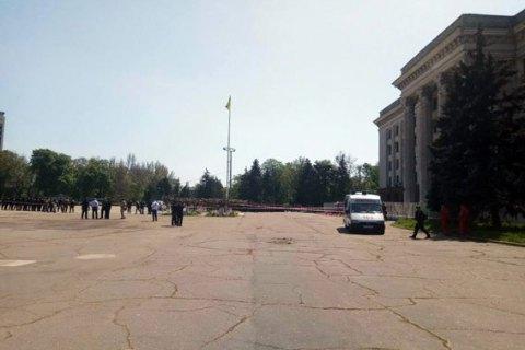 Повідомлення про замінування Будинку профспілок в Одесі не підтвердилося