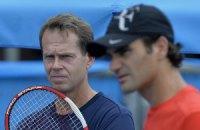 Едберг і Федерер продовжили співпрацю до кінця року