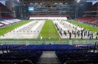 Данія перетворила національний стадіон на найбільший центр тестування на коронавірус