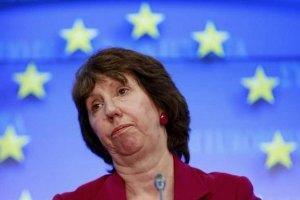 Эштон: ЕС не видит военного решения кризиса в Сирии