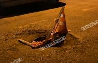 Незакрепленная крышка люка во Львове убила ребенка в проезжающей мимо машине
