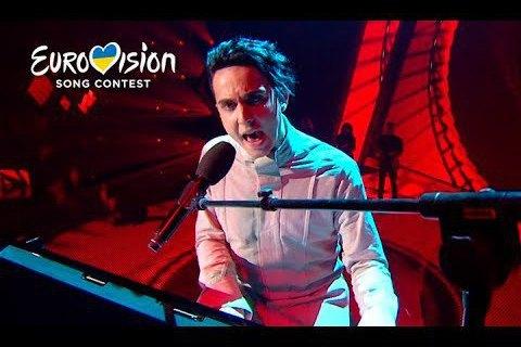 На фіналі Євробачення сьогодні Melovin виступить першим