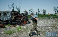 На Донбассе за день зафиксировано два обстрела