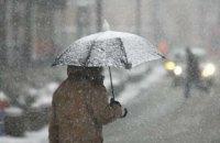 Завтра в Києві очікуються сніг і шквальний вітер