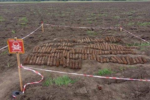 В Черкасской области нашли более 200 снарядов времен Второй мировой войны