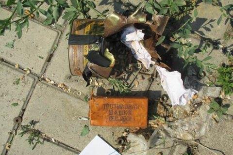 На остановке в Мариуполе нашли бомбу