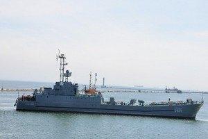 Семь украинских кораблей вернулись из оккупированного Крыма