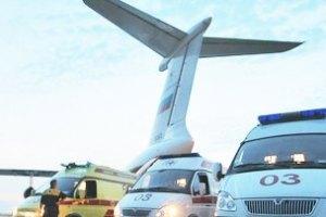 В Киеве аварийно сел самолет