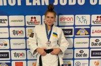 Украина завоевала единственную медаль на чемпионате Европы по дзюдо